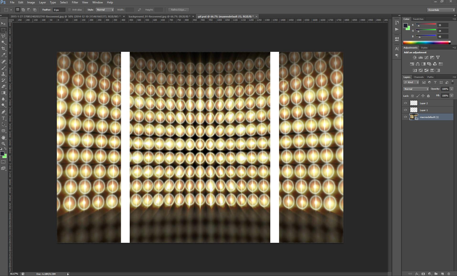 3D Split Depth GIF Photo Booth Software Setup 2
