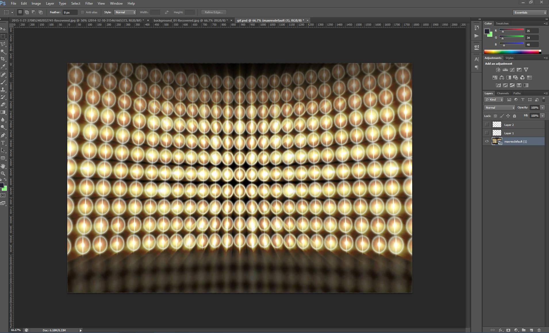 3D Split Depth GIF Photo Booth Software Setup 1