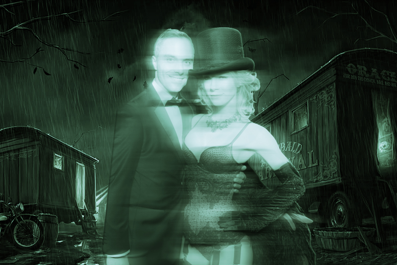 Halloween Photo Booth Ideas - Ghost Filter with Free