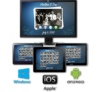 Photo Booth Connected Platforms