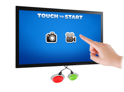 Touchscreen, Keyboard & USB Button Enabled